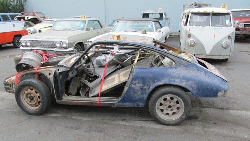 El mismo Porsche 911 antes de su reconstrucción / PorscheClassic Partner.