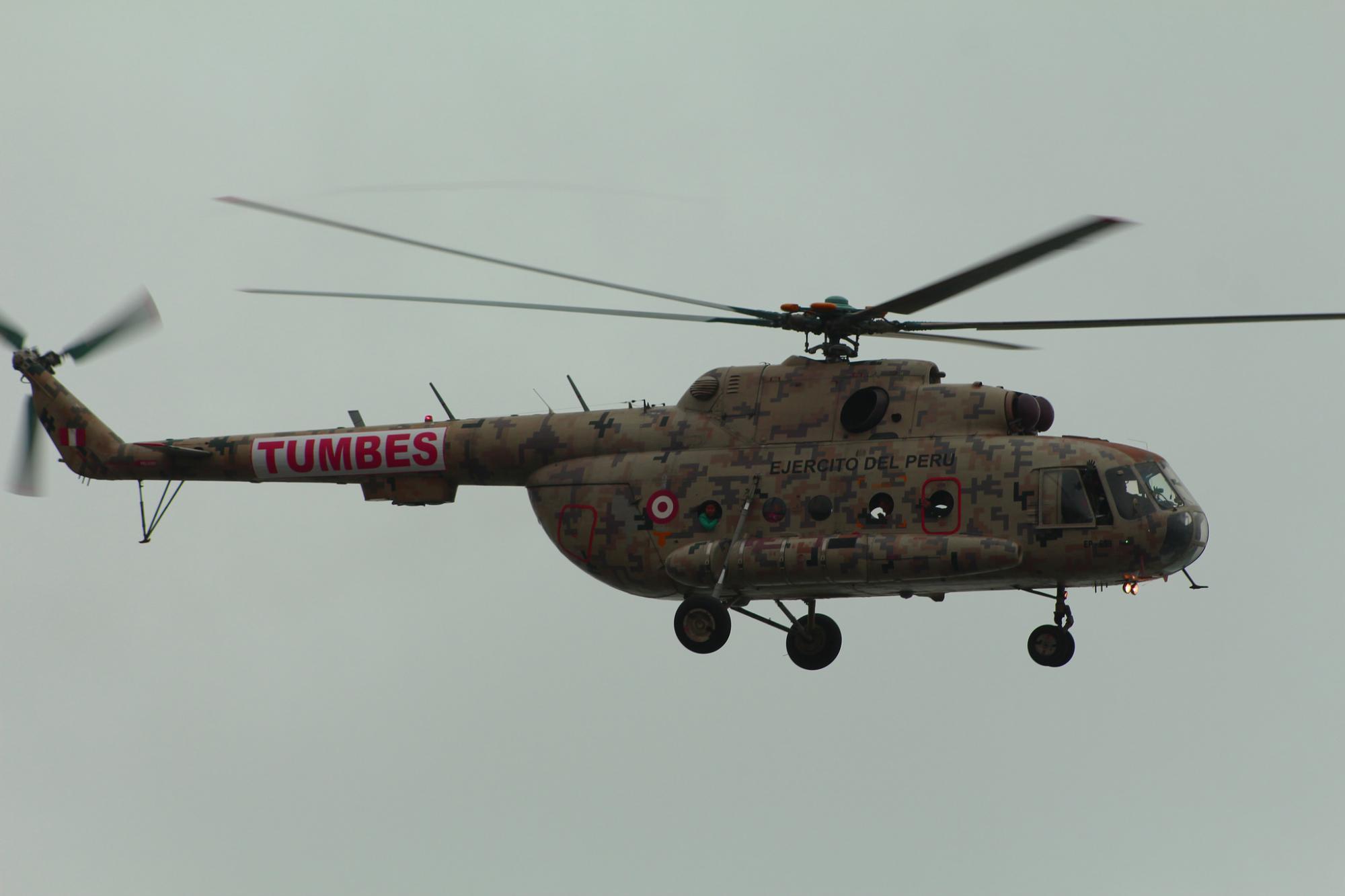 Perú compró recientemente 24 helicópteros a Rusia / Flickr: ClavarClavitos