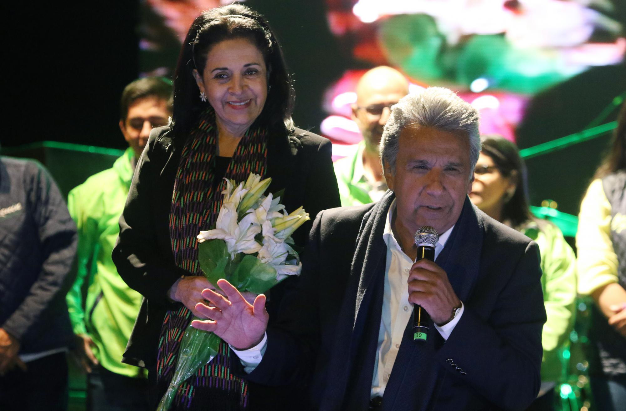 Moreno se declaró ganador tras conocer los primeros sondeos a pie de urna / Flickr: Agencia de Noticias ANDES