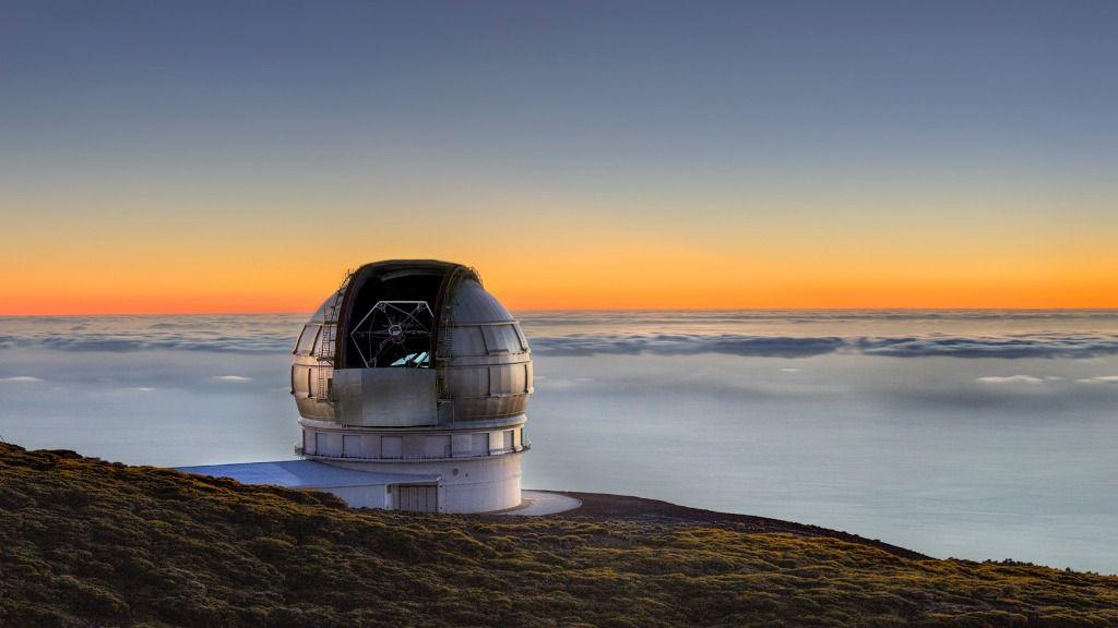 Grantecan es el telescopio óptico más grande del planeta / Foto: IAC