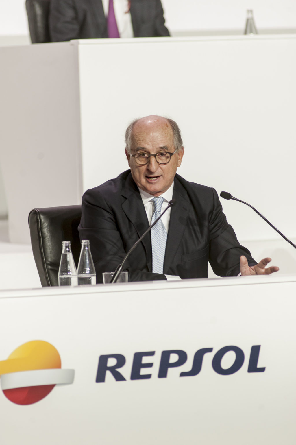 Kirchner nacionalizó en 2012 el 51% de las acciones del negocio argentino de Repsol-YPF / Foto: Repsol