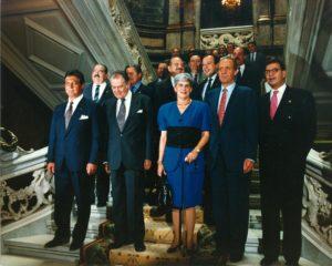 La madrileña Casa de América fue la elegida para acoger la II Cumbre Iberoamericana / Foto: Casa de América