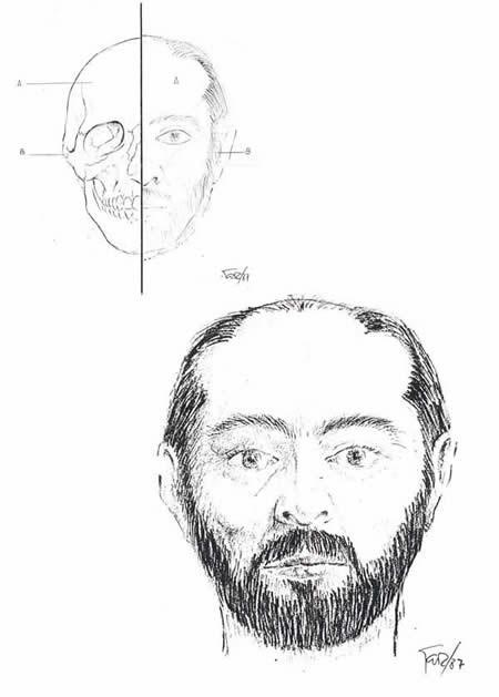 Este es un retrato al carbón del reporte médico de Manuel Blanco Romasanta / Foto: Wikipedia