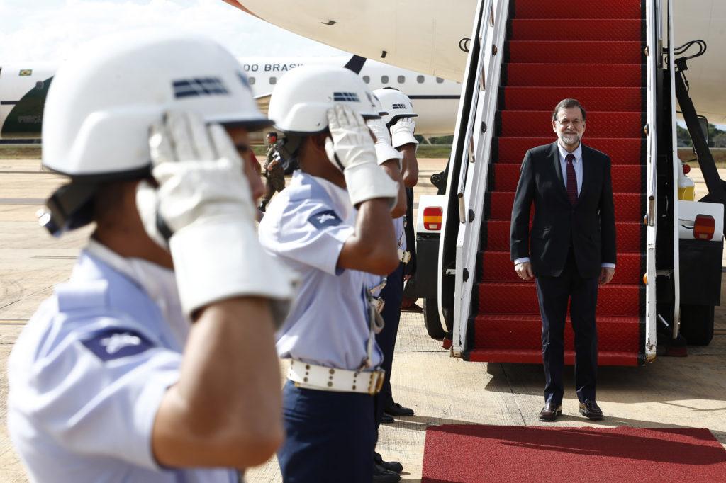 Rajoy permanecerá en Brasilia hasta este martes, después viajará a São Paulo / Foto: La Moncloa