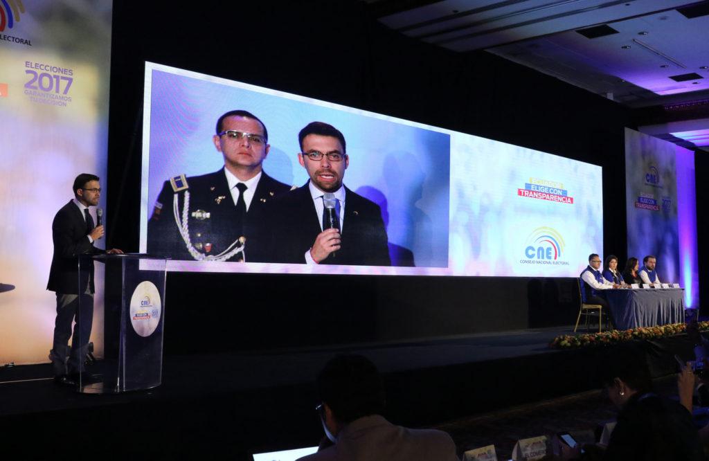 Los escrutinios del CNE dan la victoria a Moreno a la espera de anuncio oficial / Foto: Agencia de Noticias ANDES