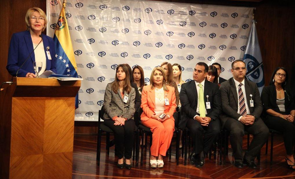 La fiscal Ortega Díaz puede ubicarse en un rol de peso en el rescate de la institucionalidad / Foto: Twitter @lortegadiaz