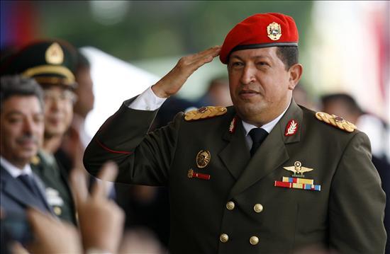 """Chávez se empeñó en la idea de la """"unión cívico-militar"""" / Flickr: Globovisión"""