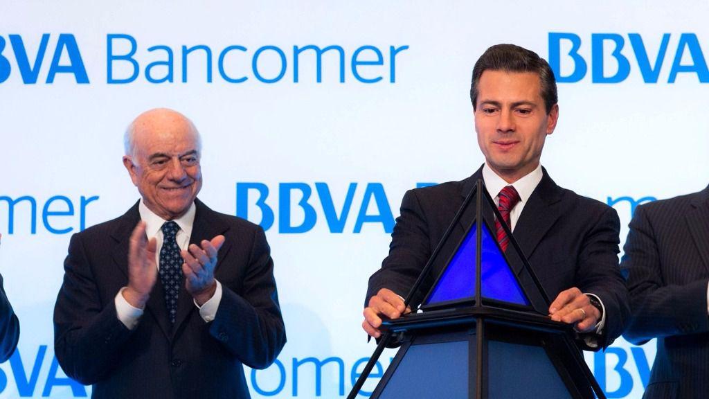 La filial mexicana sigue como pilar del grupo que preside Francisco González / Flickr: Presidencia de la República Mexicana