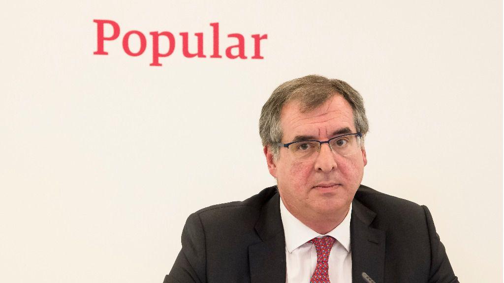 Crecen los interesados en hacerse con Popular, cuyo CEO es Sánchez-Asiaín / Foto: Banco Popular