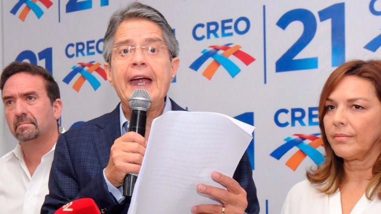 Lasso y su equipo de Creo darán una ponencia en Madrid el 6 de junio / Foto: Creo