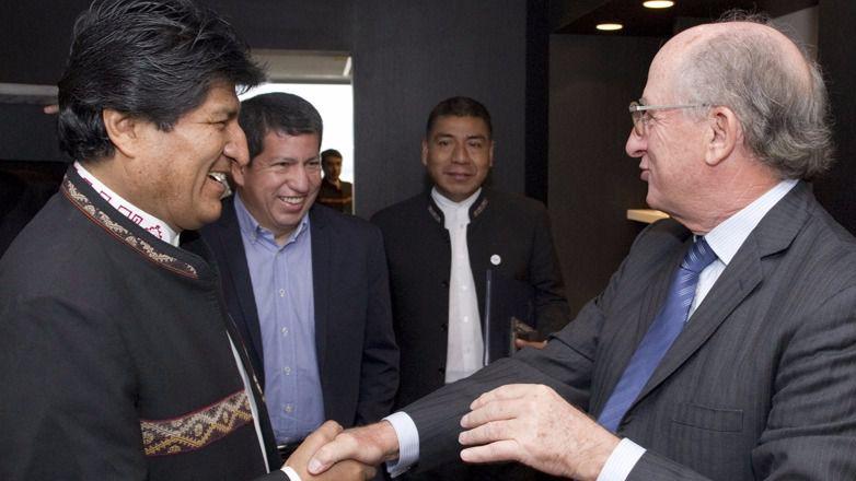 Brufau volverá a reunirse con Morales la próxima semana en Bolivia / Foto: Repsol