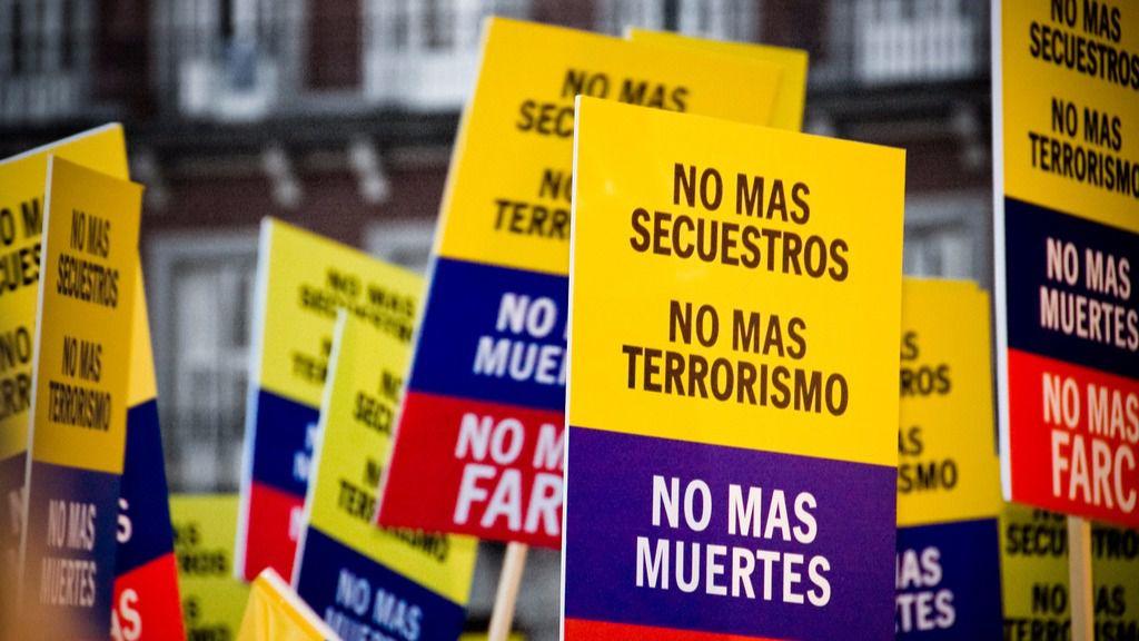 """Santos señaló que cuando termine este tercer tramo de desarme """"se acaban las FARC"""" / Flickr: Camilo Rueda López"""