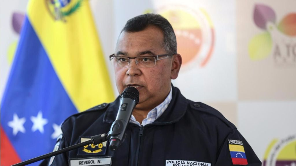 Néstor Reverol informó que el responsable fue un sargento de la Policía Aérea / Foto: Ministerio de Interior, Justicia y Paz