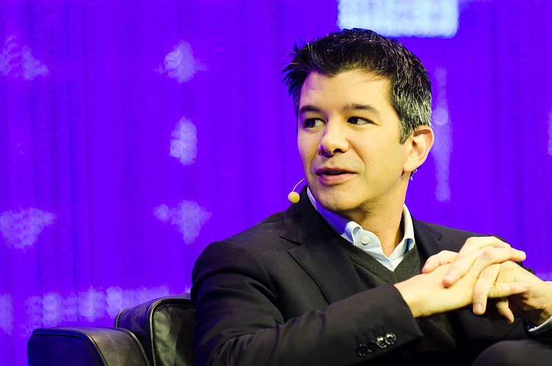 El presidente y fundador de Uber, Travis Kalanick, dimite presionado por los inversores / Foto: Bradzil
