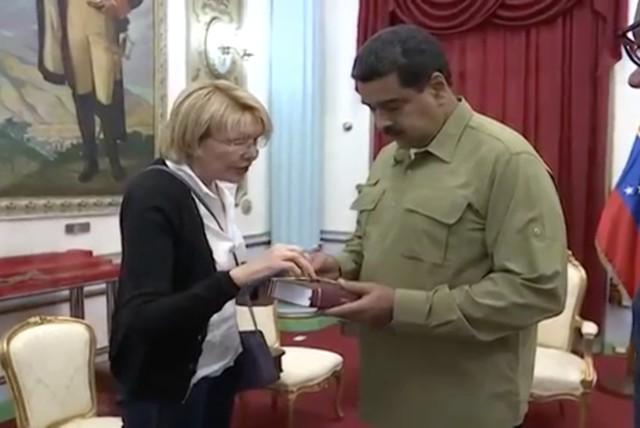 La fiscal general Luisa Ortega Díaz hoy está enfrentada abiertamente a Maduro / Foto: Wikipedia