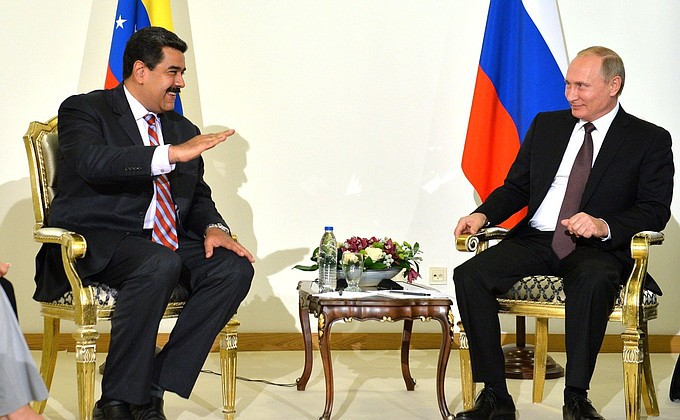 Maduro comparte con Vladimir Putin la simpatía por el régimen de Al-Assad / Foto: en.kremlin.ru
