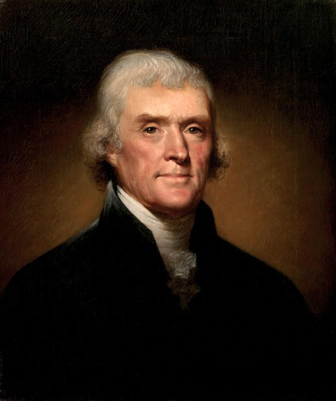 "Thomas Jefferson escribió: ""Prefiero una prensa sin gobierno a un gobierno sin prensa"" / Foto: Wikimedia Commons"