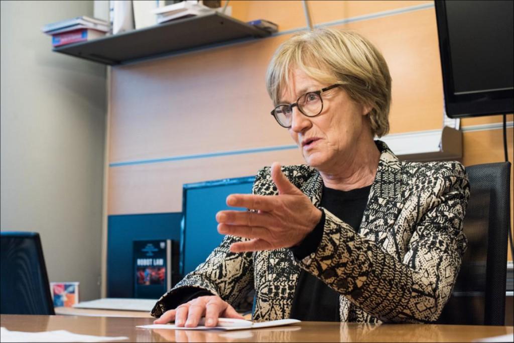 Mady Delvaux alerta sobre las consecuencias del auge de la robótica / Foto: European Parliament