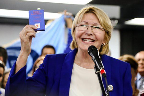 "Diosdado Cabello, expresidente de la ANV, ha llegado a llamarla ""traidora"" / Twitter: Min. Público"