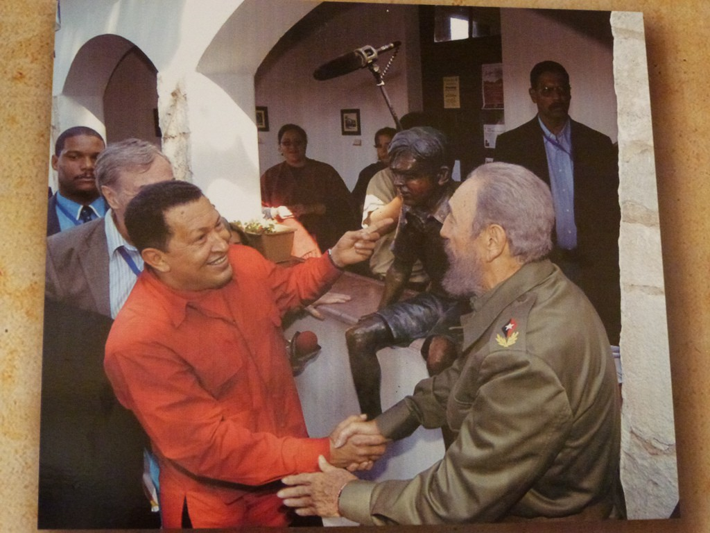 Fidel Castro aprovechó una oportunidad de oro con la llegada de Hugo Chávez al poder / Foto: Flickr