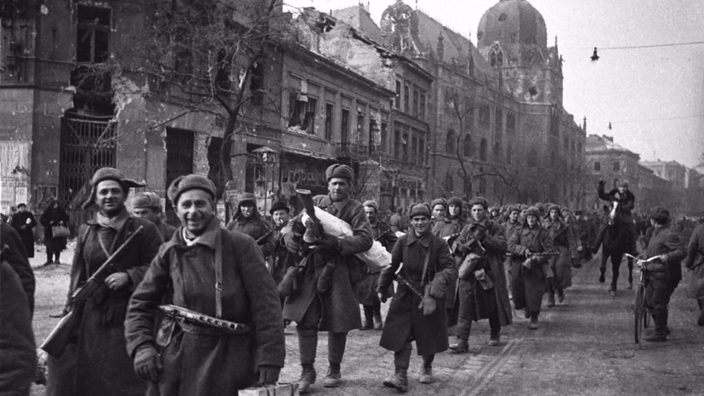 'Liberación' fue escrita poco después de que las tropas del Ejército Rojo tomaran Budapest / Foto: Wikipedia