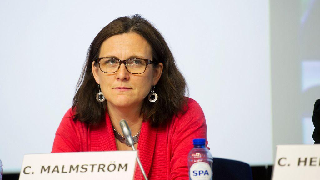 "Cecilia Malmström asegura que el libre comercio ""beneficia a todos"" / Flickr: Comisión Europea"