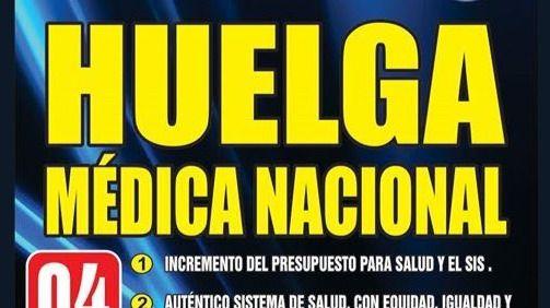 Perú huelga médicos