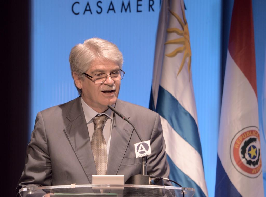 El ministro Dastis destacó que el acuerdo abre la puerta a un mercado de 250 millones de personas / ALN: M.S.