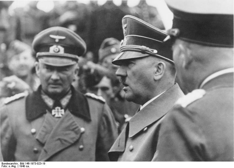 Hitler insistió hasta el final en que el Tercer Reich cayó por la incompetencia de los generales / Foto: Wikimedia Commons