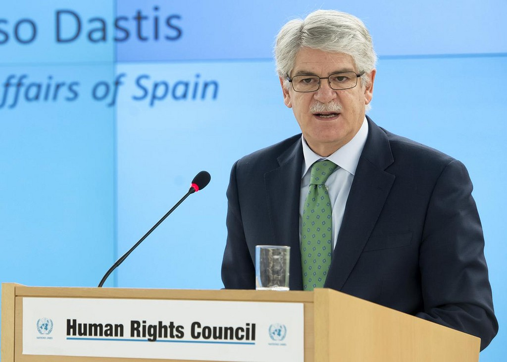 """Dastis pidió a Bruselas que no descarte """"sanciones específicas"""" en Venezuela / Flickr: UN Geneva"""
