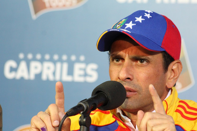 La posición de Henrique Capriles hoy está más que justificada / Foto: Wikipedia