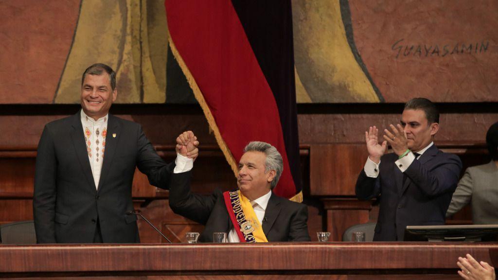 Rafael Correa Lenín Moreno