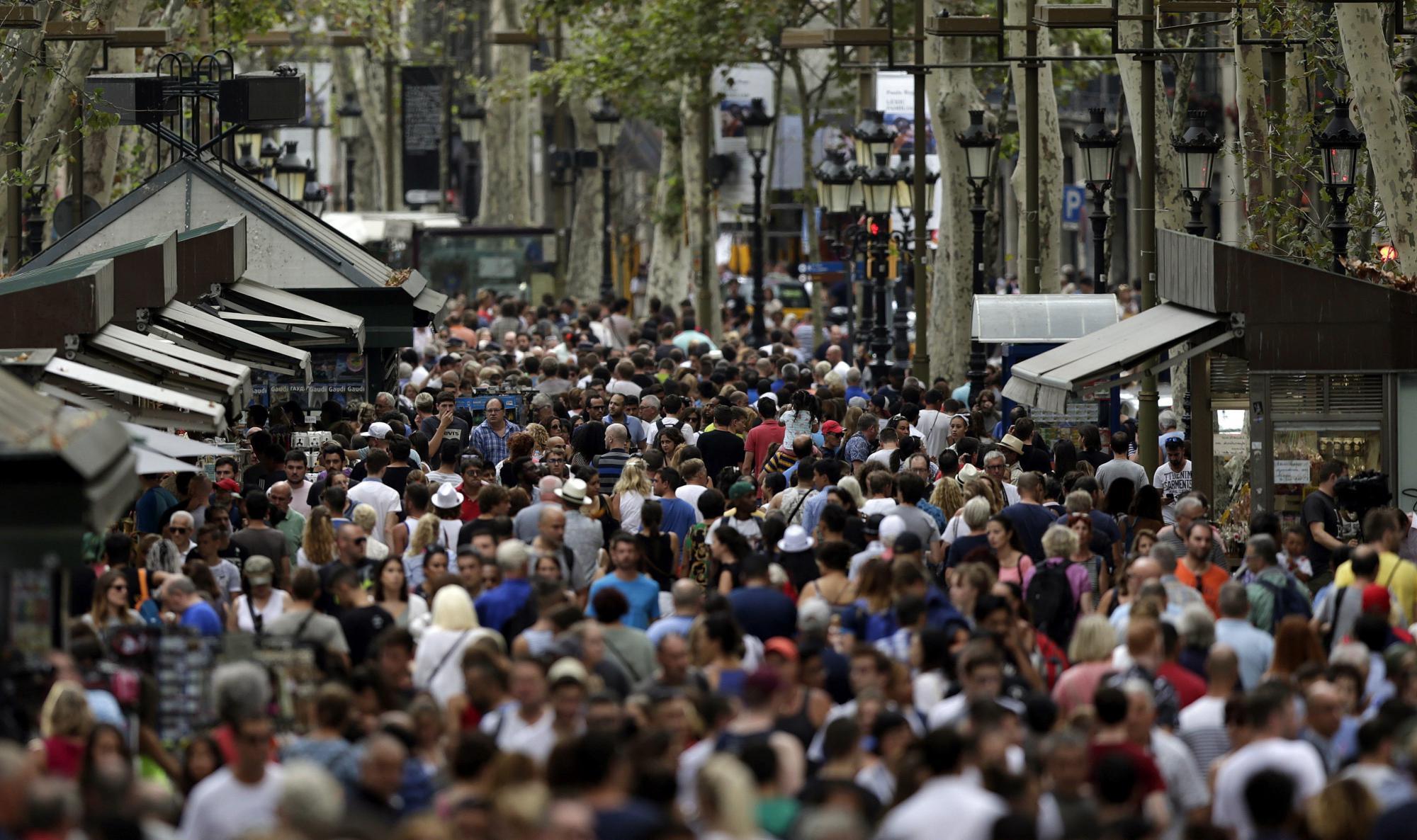 Barcelona es la primera ciudad turística de España, según el índice de Exceltur / EFE: Alberto Estévez