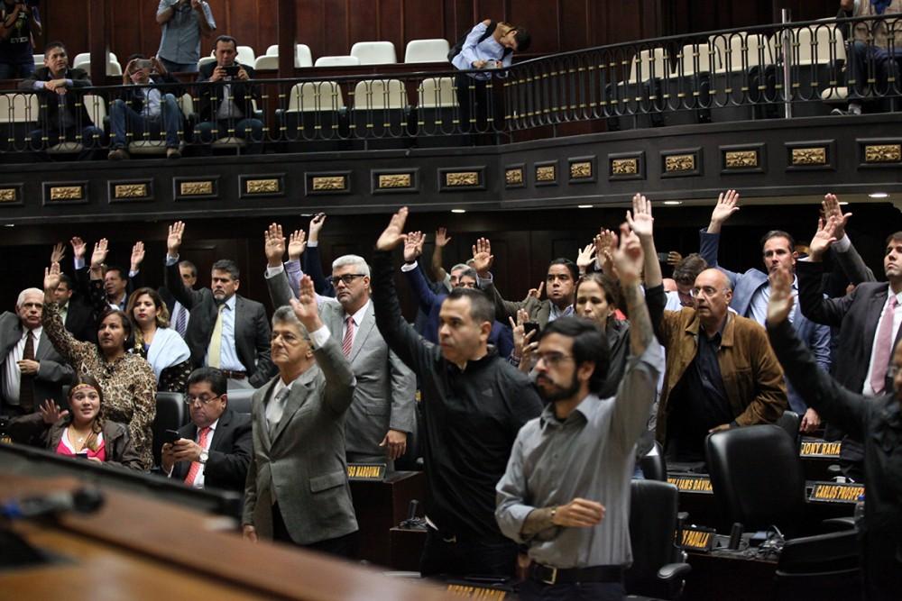 La Asamblea Nacional desconoce la Constituyente y reivindica la Constitución de 1999 / Foto: Asamblea Nacional