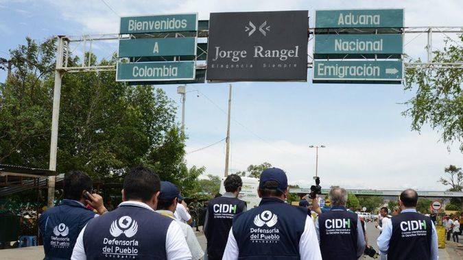 Colombia vive bajo la amenaza de un éxodo masivo de venezolanos / Foto: Comisión Interamericana DDHH