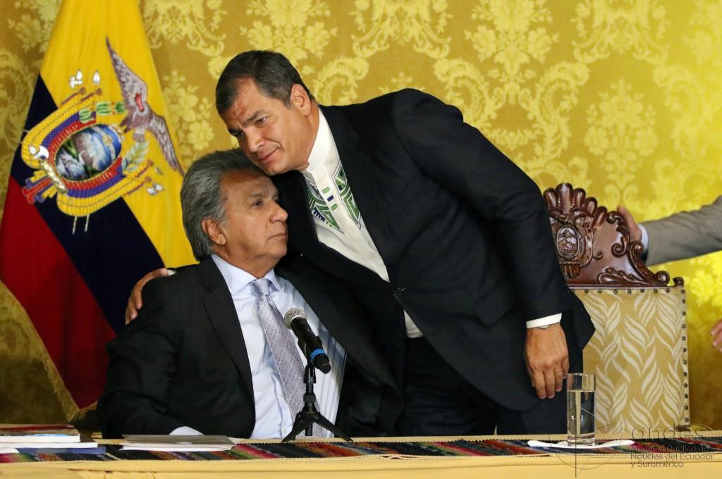"""Correa ha tildado a Moreno de """"mediocre"""" y """"desleal"""" / Flickr: Agencia de Noticias ANDES"""