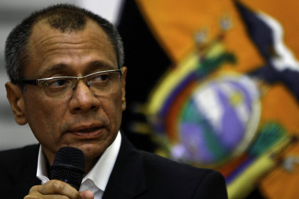 Moreno retiró a Glas de la Vicepresidencia por supuestos vínculos con Odebrecht / Foto: Wikimedia Commons