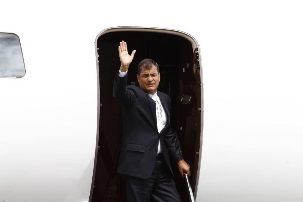 Correa gobernó en Ecuador los últimos 10 años / Flickr: Agencia de Noticias ANDES
