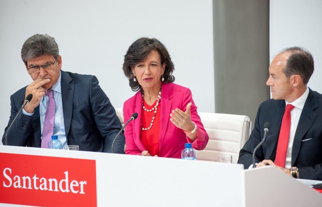 La presidenta Ana Patricia Botín compró Popular por un euro / Foto: Santander