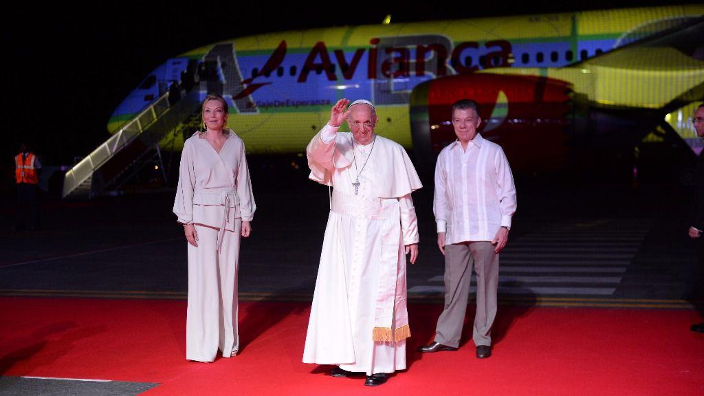 La crisis venezolana también fue protagonista en la visita oficial del Papa a Colombia / Foto: Presidencia de Colombia