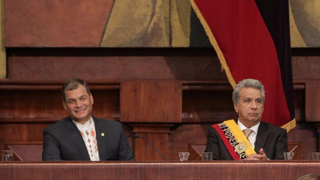 Moreno pide perdón por políticas de la Administración anterior y Correa lo insulta / Flickr: Asamblea Nacional del Ecuador