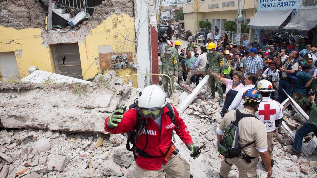 El bono catastrófico no se activará para el último terremoto de México por ser de grado menor a 8 / Foto: Presidencia México