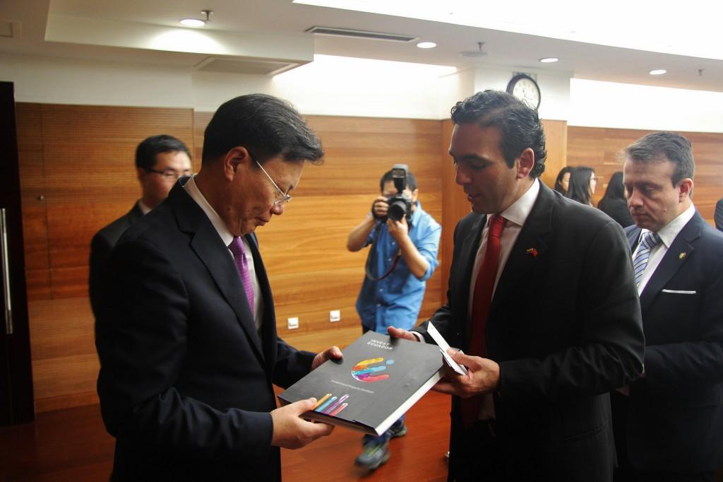 Campana ya se ha reunido con el viceministro de Comercio de China / Flickr: Comercio Exterior