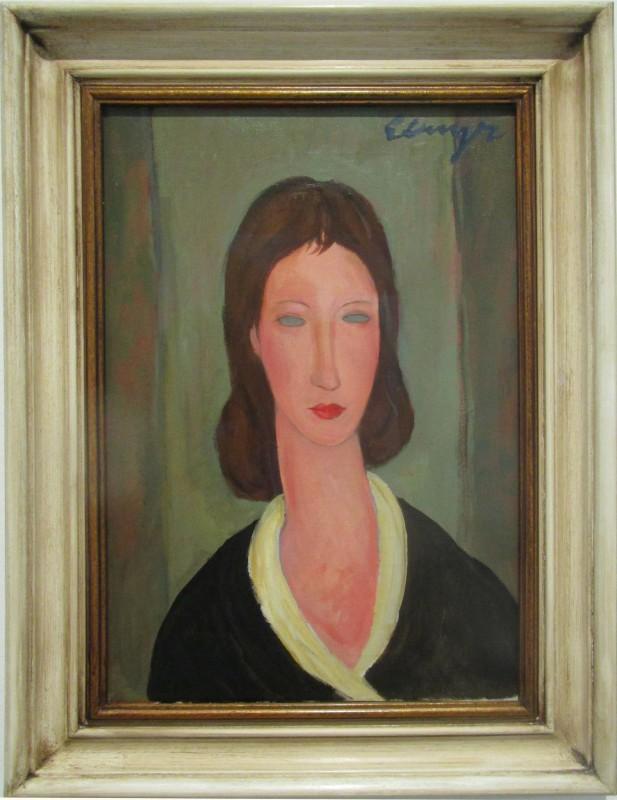 Elmyr de Hory imitó el cuadro 'Dona' de Modigliani / Flickr: Martin Beek