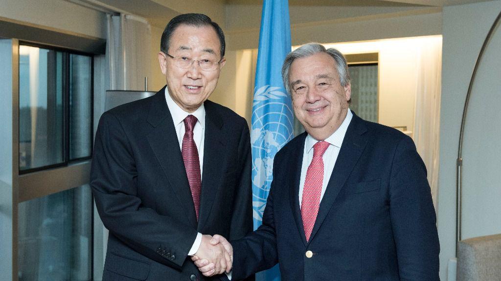 António Guterres sustituyó en el cargo a Ban Ki-moon en enero de 2017/ Foto: ONU