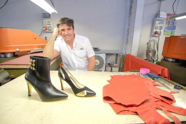 "Fernando Arellano: ""Fundar mi firma de zapatos, eso me mantuvo vivo"" / ALN: FM"