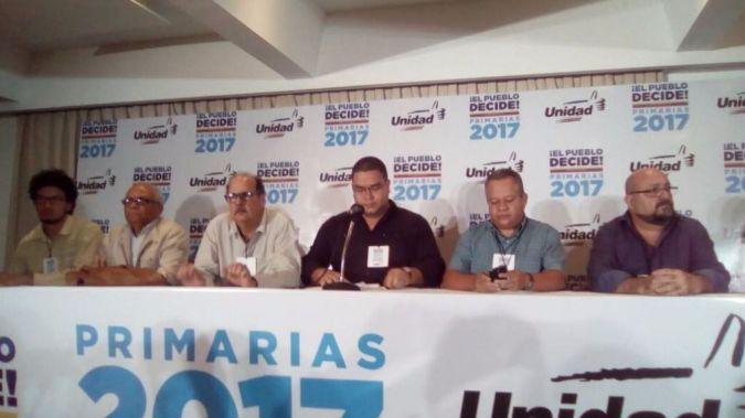 La oposición no tiene armas, tiene votos / Foto: MUD