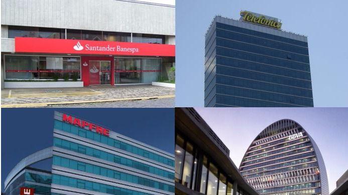 Todas ganan en América Latina: Banco Santander, BBVA, Mapfre y Telefónica / Fotos: Mateus Hidalgo, Malala Sansur, BBVA y Mapfre