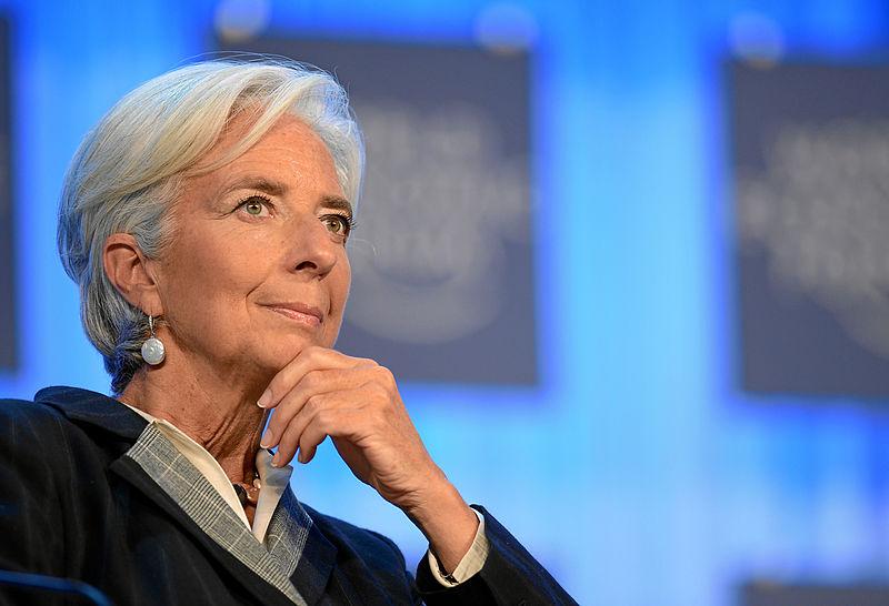 """""""Para potenciar la productividad, un factor clave es el auge de los salarios"""", dice Lagarde / Flickr: Magnus Manske"""