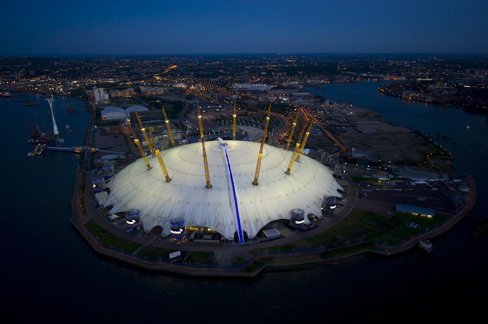 El O2 Arena de Londres genera unos 450 millones de euros anuales para la ciudad / Foto: Wikipedia